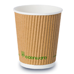 Compostable Ripple Cups