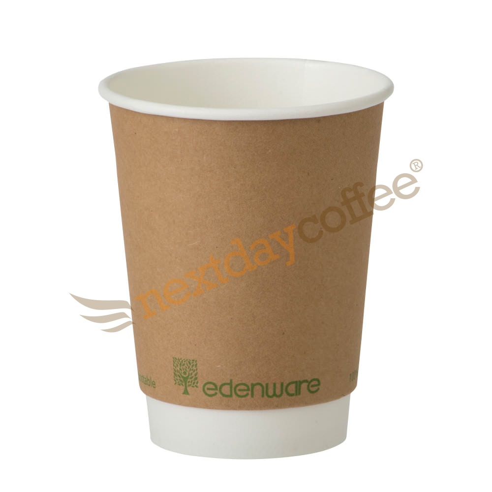 12oz Double Wall Compostable Paper Cup (500)