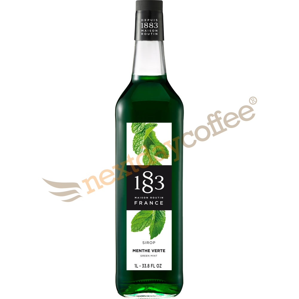 Routin 1883 Green Mint Syrup (1 Litre)