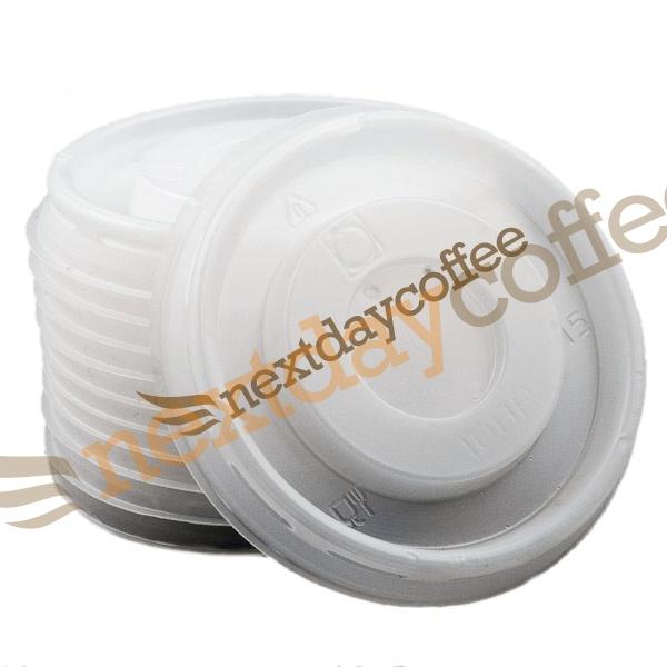 4oz White Flat Lids (1000)