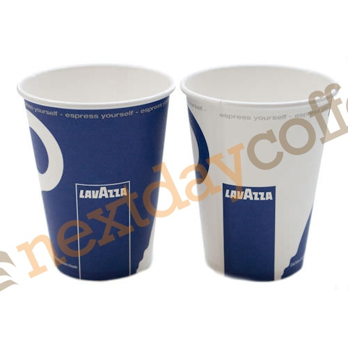8oz Single Wall Cups - Lavazza Branded (1000)
