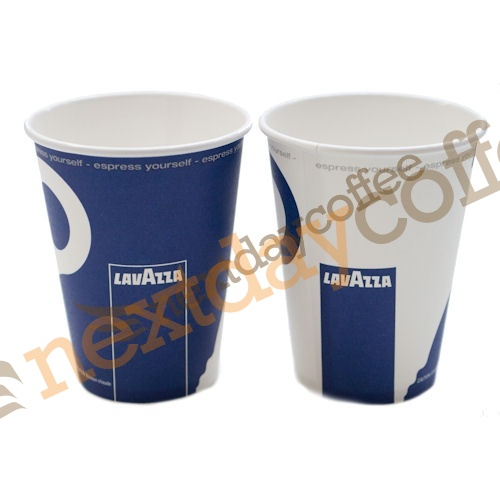 8oz Single Wall Cups - Lavazza Branded (100)