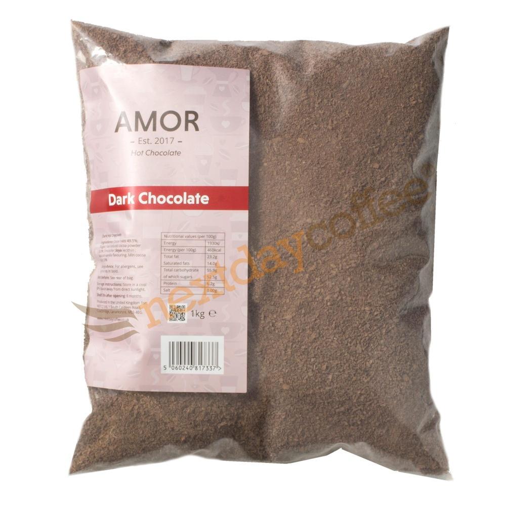 Amor Dark Hot Chocolate Powder (1kg)