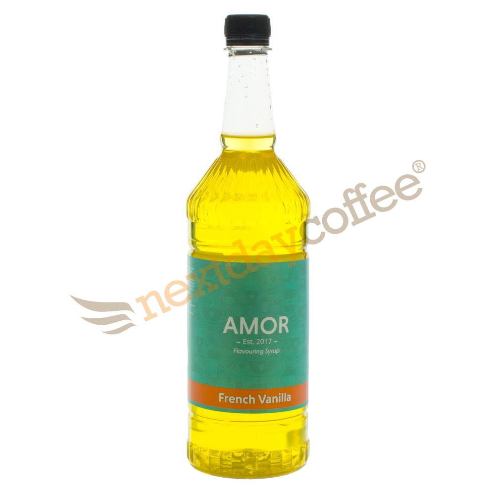 Amor French Vanilla Syrup (1 Litre)
