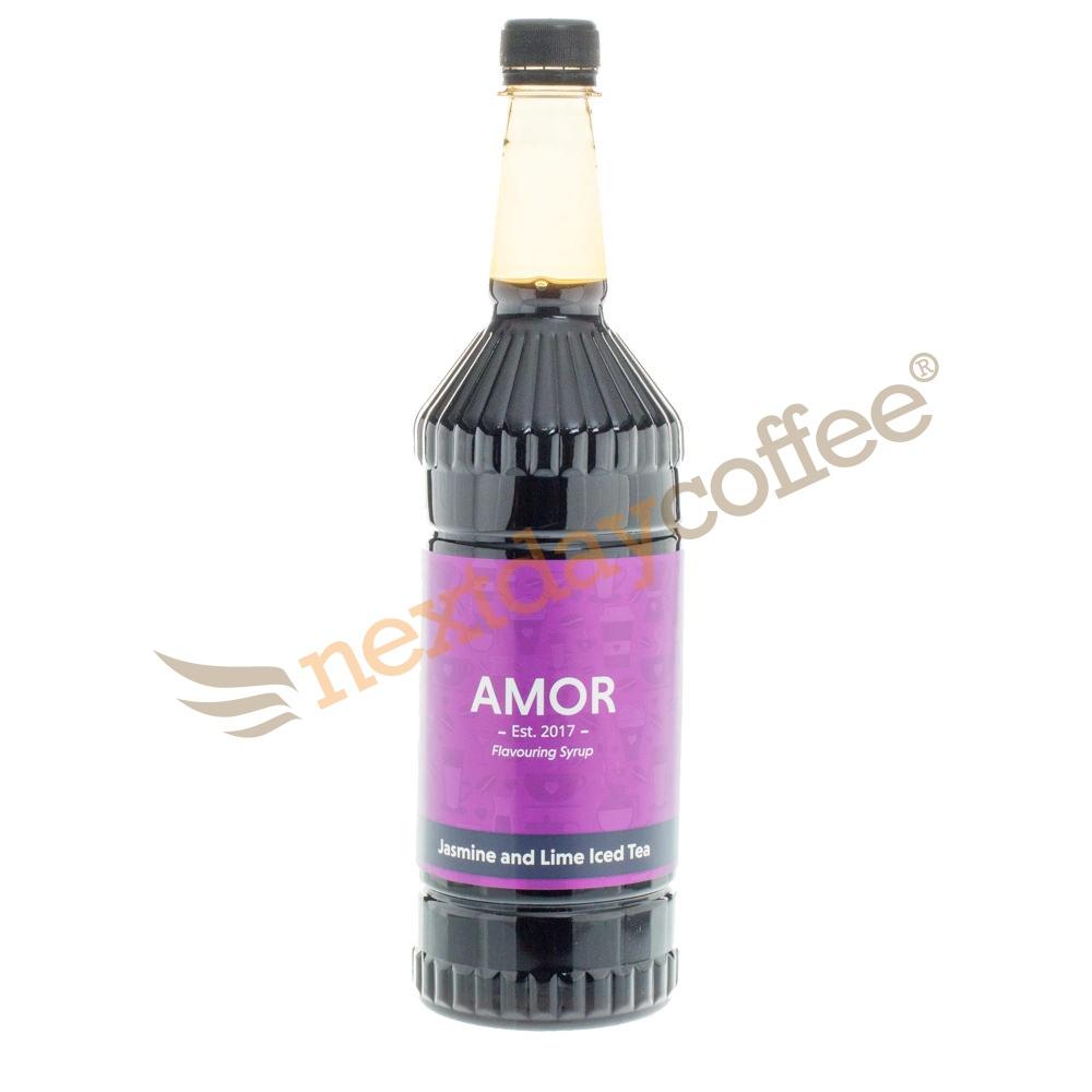 Amor Jasmine Lime Iced Tea Syrup (1 Litre)