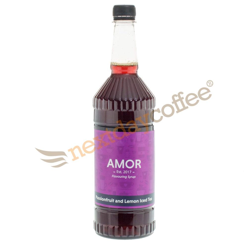 Amor Passionfruit Lemon Iced Tea Syrup (1 Litre)
