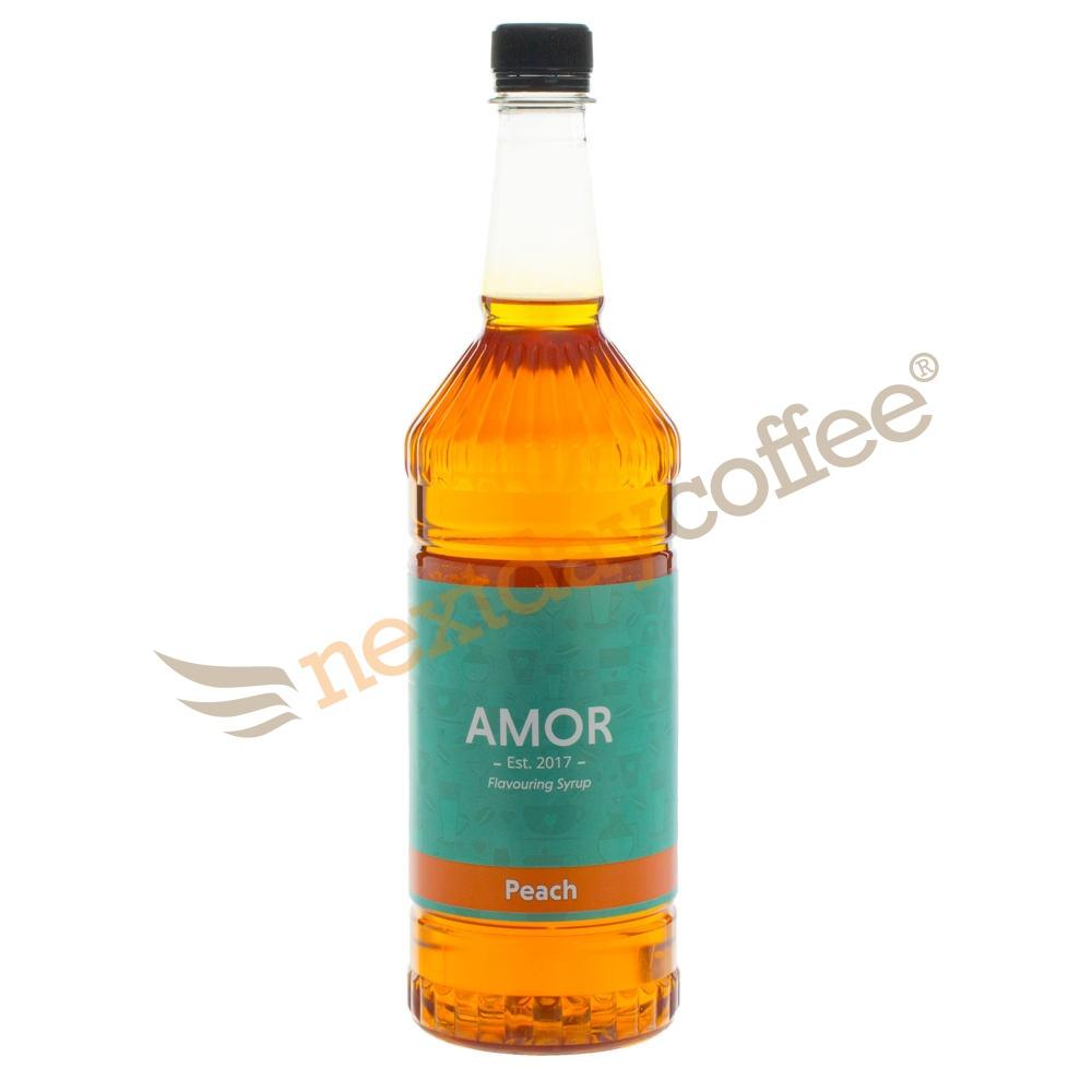 Amor Peach Syrup (1 Litre)