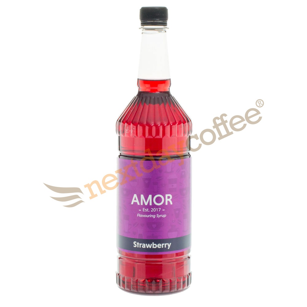 Amor Strawberry Syrup (1 Litre)