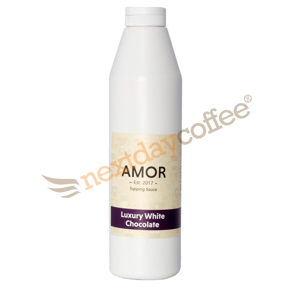 Amor Luxury White Chocolate Sauce (1kg)