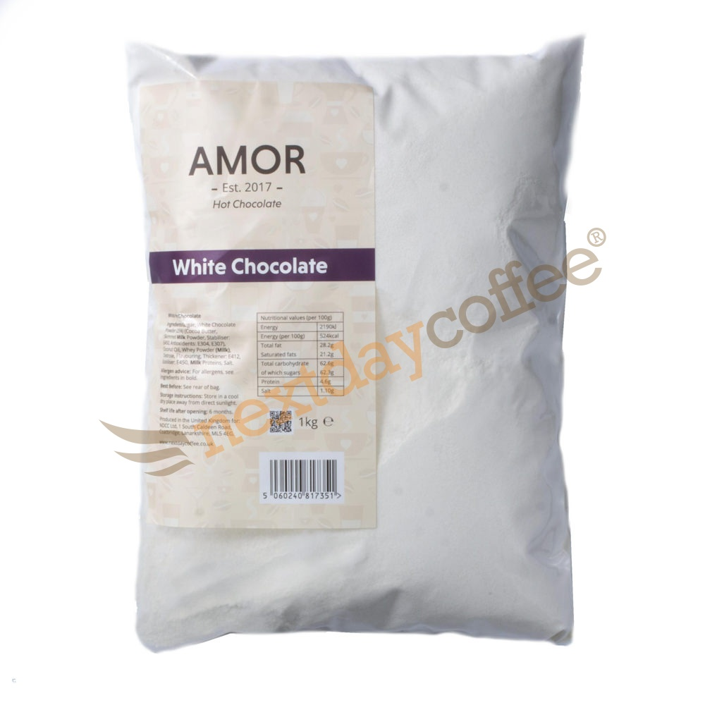 Amor White Hot Chocolate Powder (1kg)