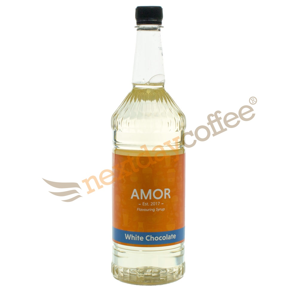 Amor White Chocolate Syrup (1 Litre)