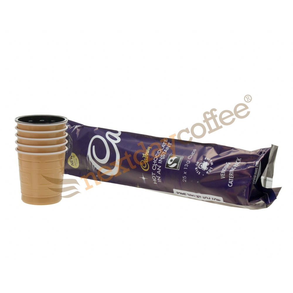 Cadbury Hot Chocolate 73mm Vending Incup (25)