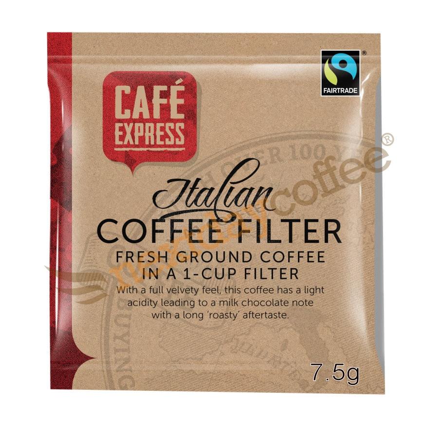 Cafe Express Fairtrade Ground Coffee Bags (50)