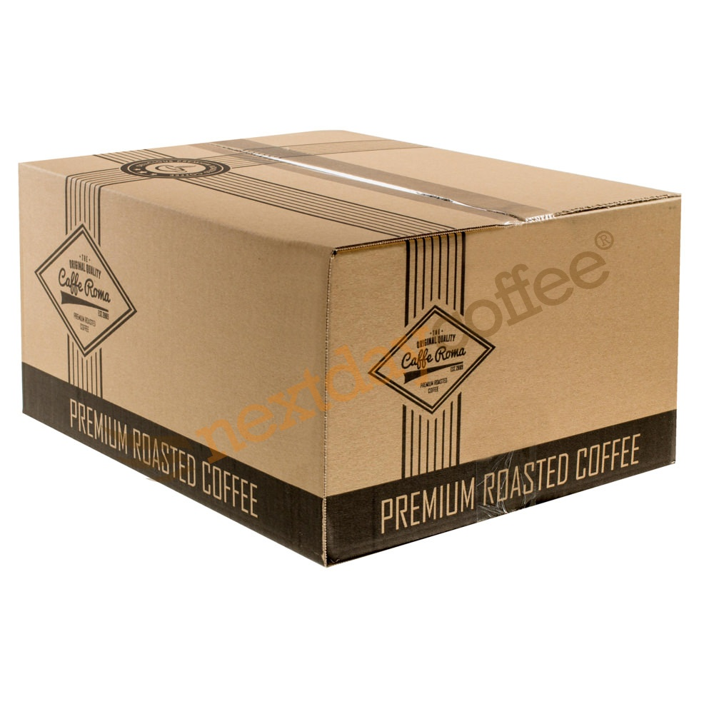 Caffe Roma Rich Italian Gold Cafetiere Coffee (8x500g)