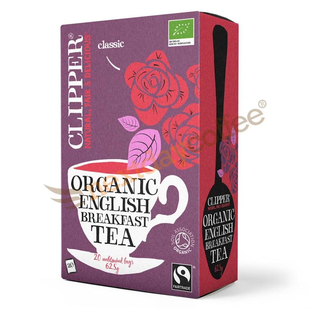 Clipper Tea - English Breakfast Envelope Tea (25)
