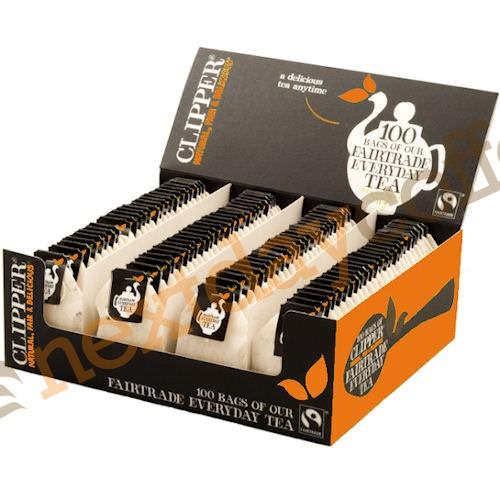 Clipper Fairtrade Everyday String + Tag Tea (100)