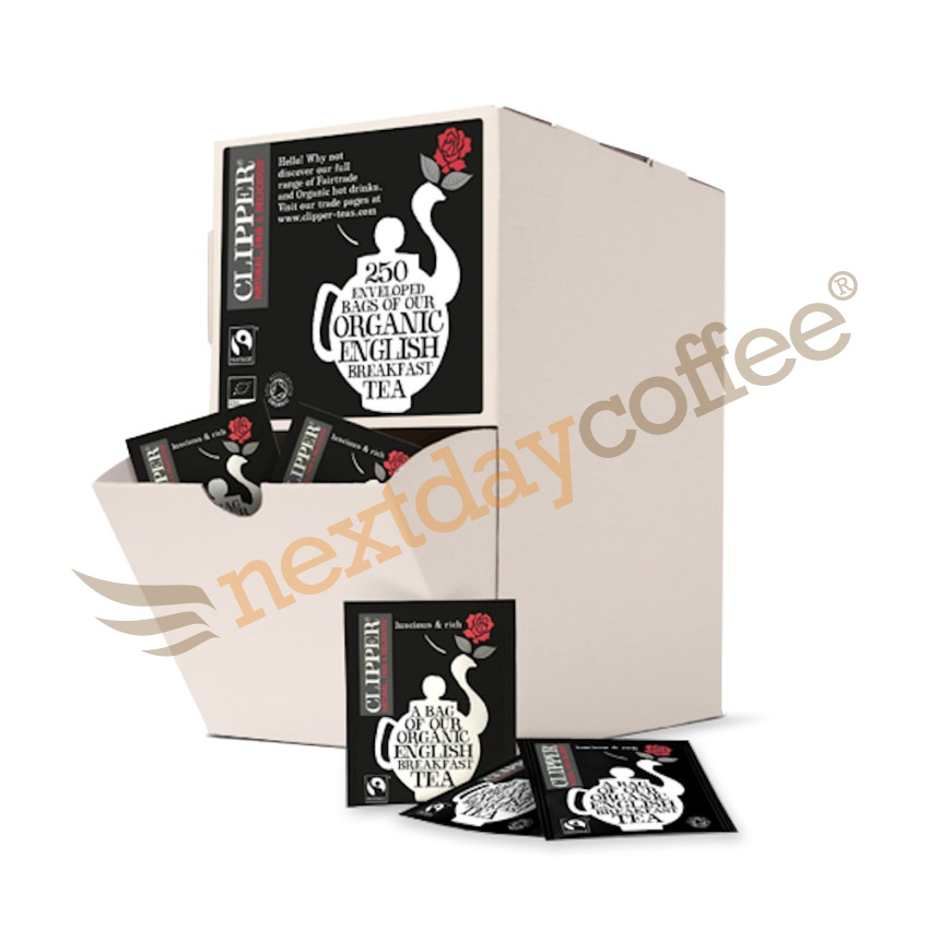 Clipper Organic Envelope English Breakfast Tea (250)