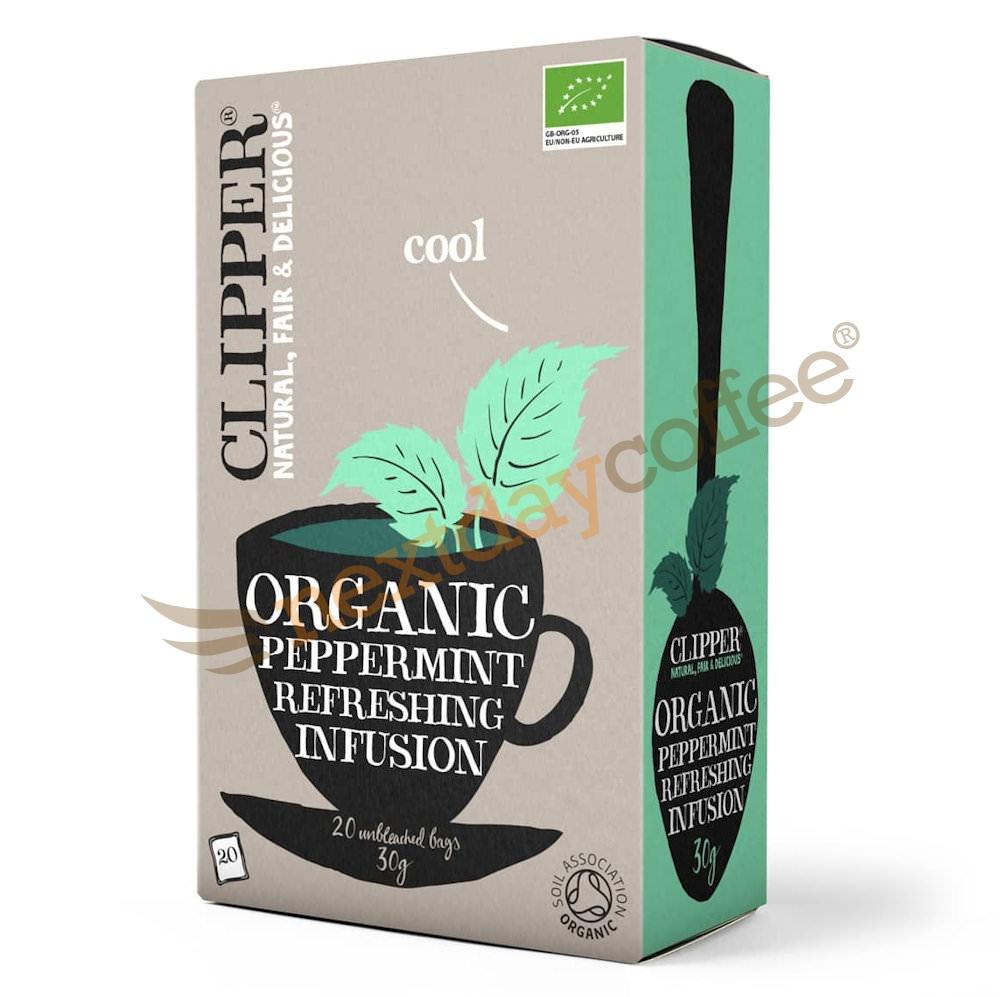 Clipper Tea - Organic Peppermint Envelope Tea (25)