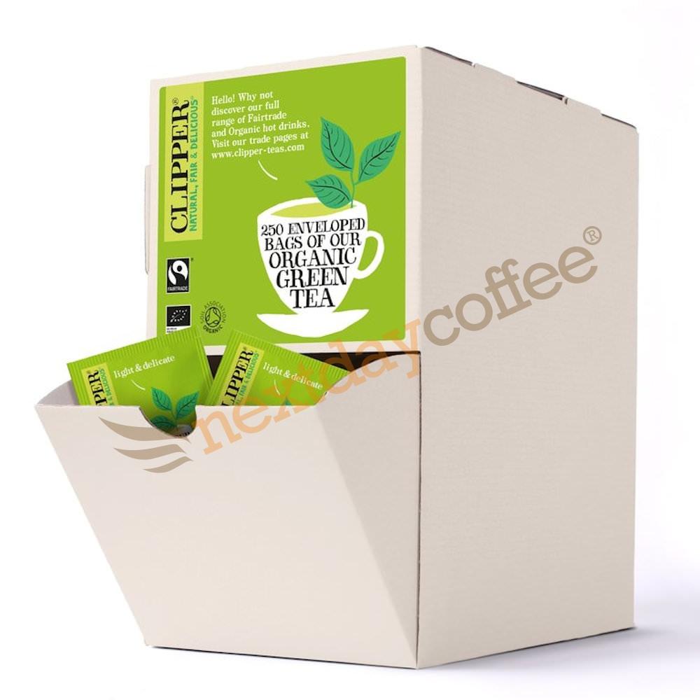 Clipper Fairtrade Organic Envelope Green Tea (250)