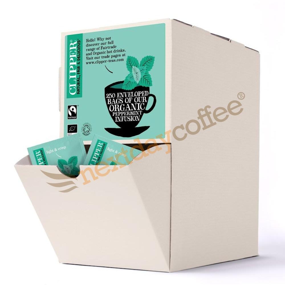 Clipper Fairtrade Organic Envelope Peppermint Tea (250)
