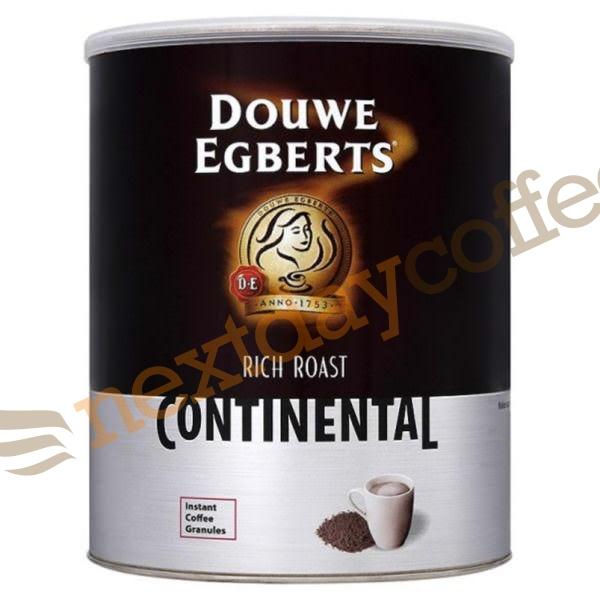 Douwe Egberts Rich Roast Continental Coffee (750g Tin)