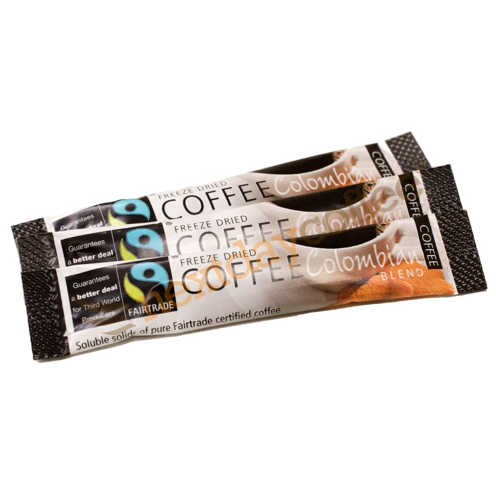 Fairtrade Instant Coffee Sticks - Colombian (250)
