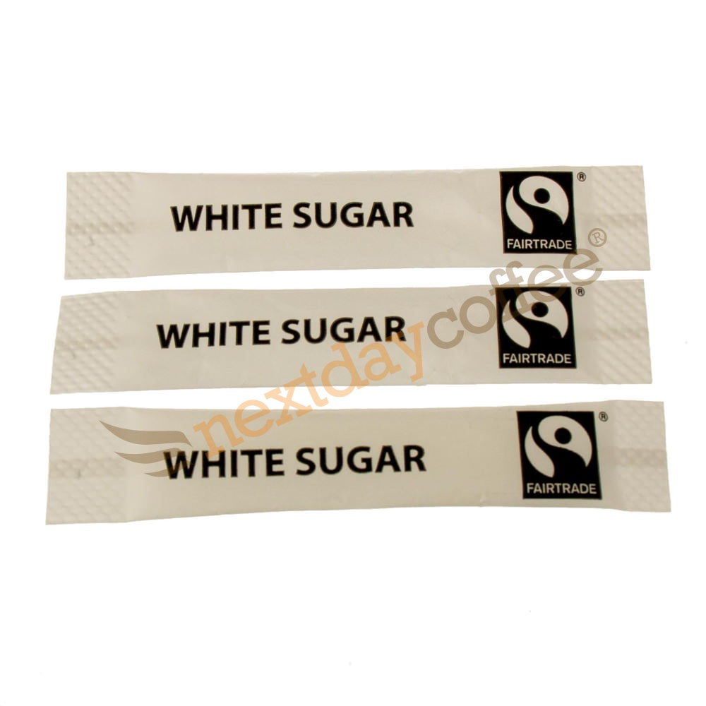 Fairtrade White Sugar Sticks (1000)