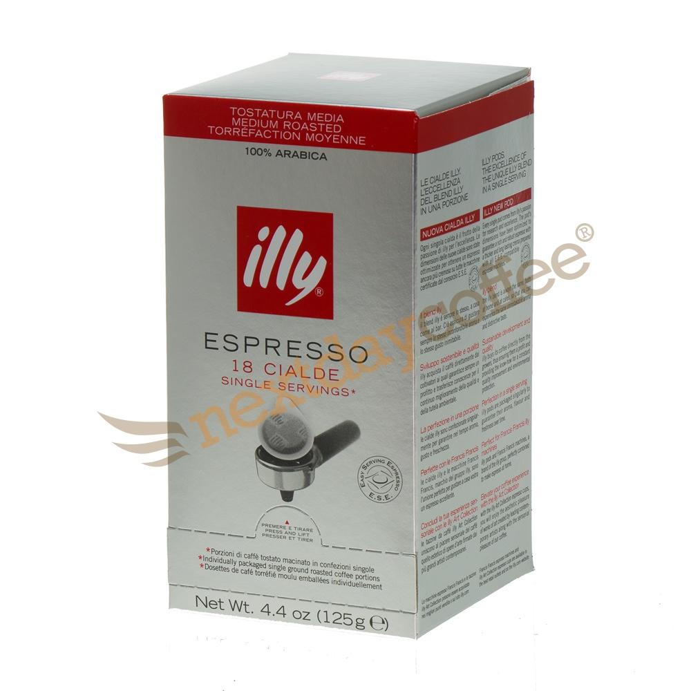 Illy Italian Coffee Pods (18 pods)
