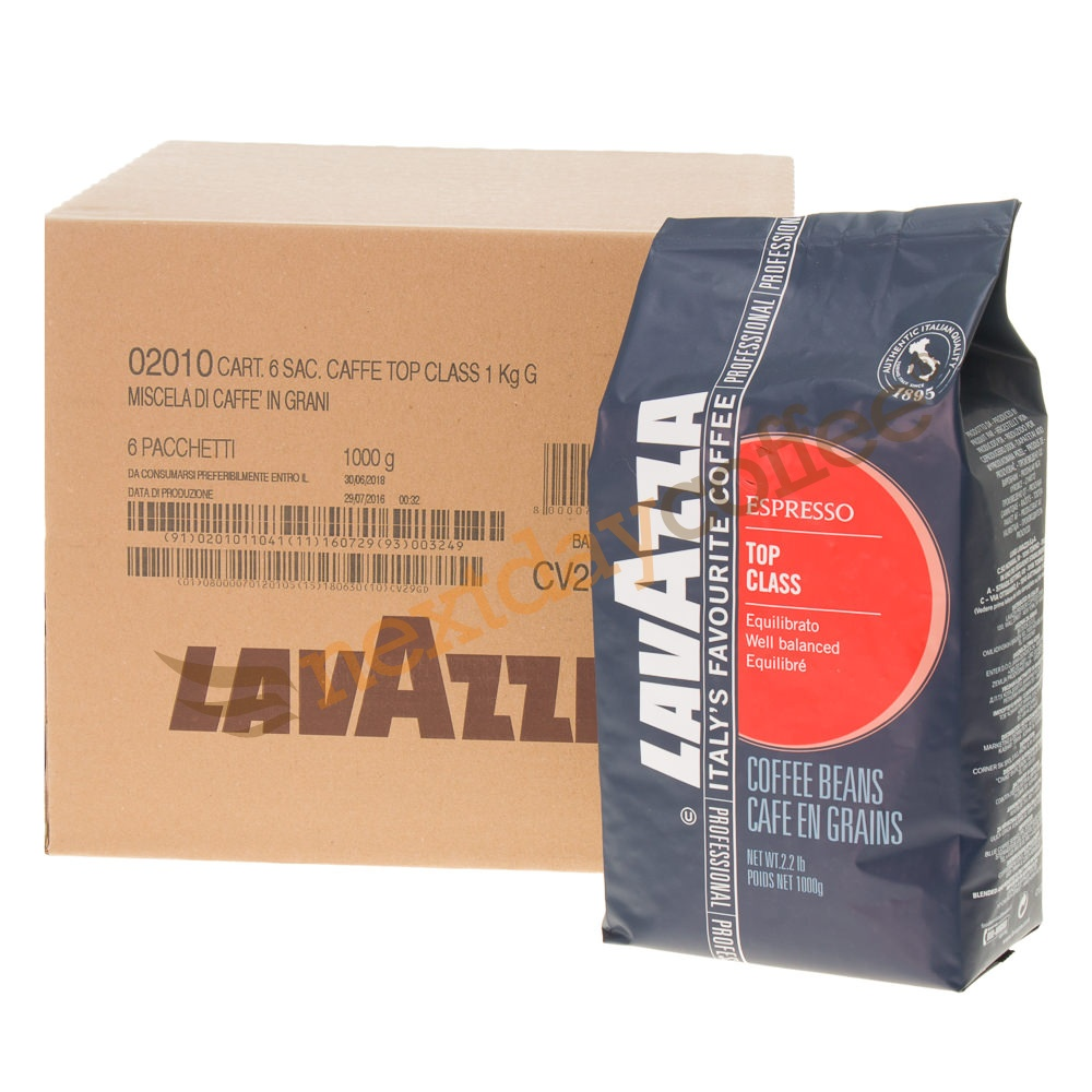 Lavazza Top Class Coffee Beans (6kg)
