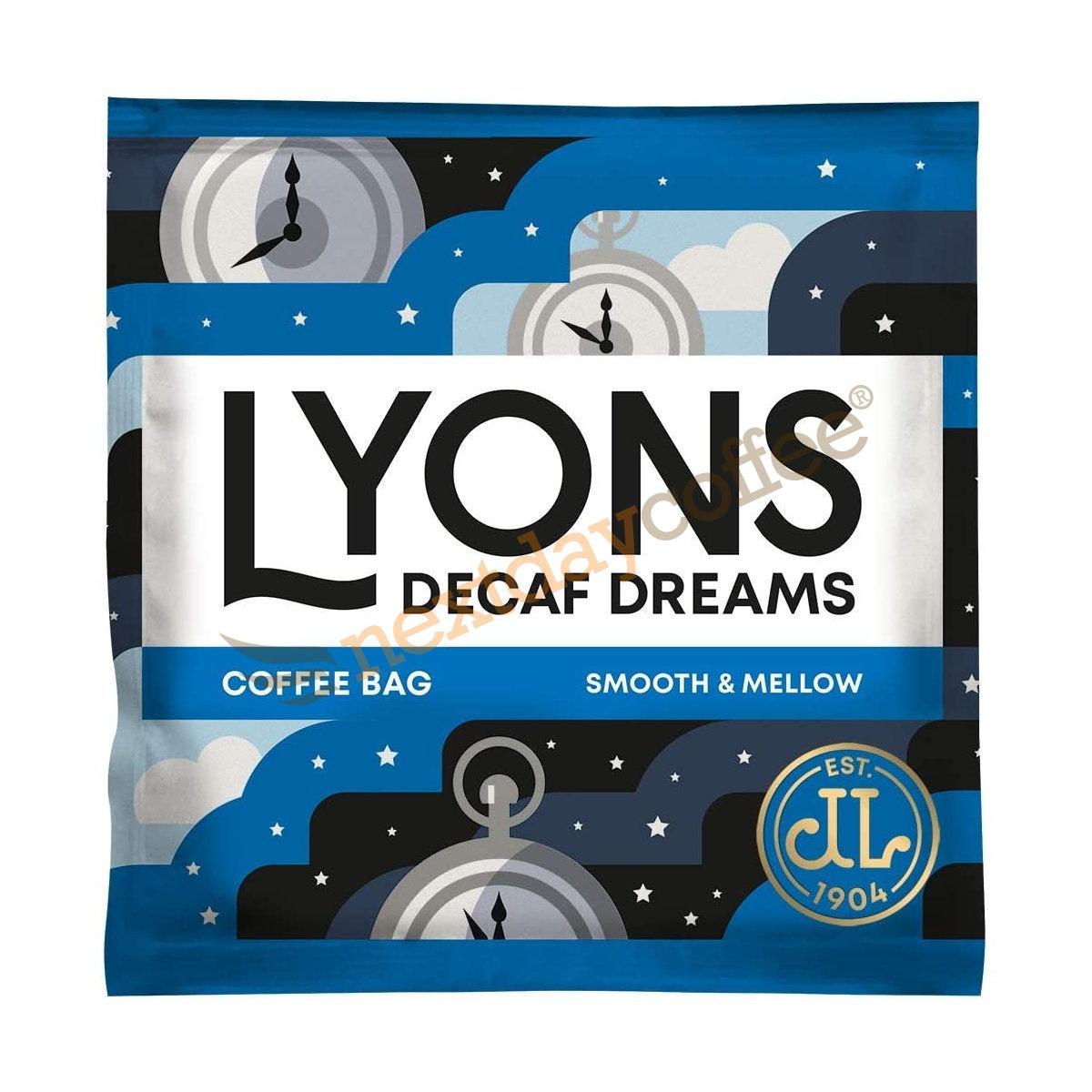 Lyons Decaf Coffee Bags