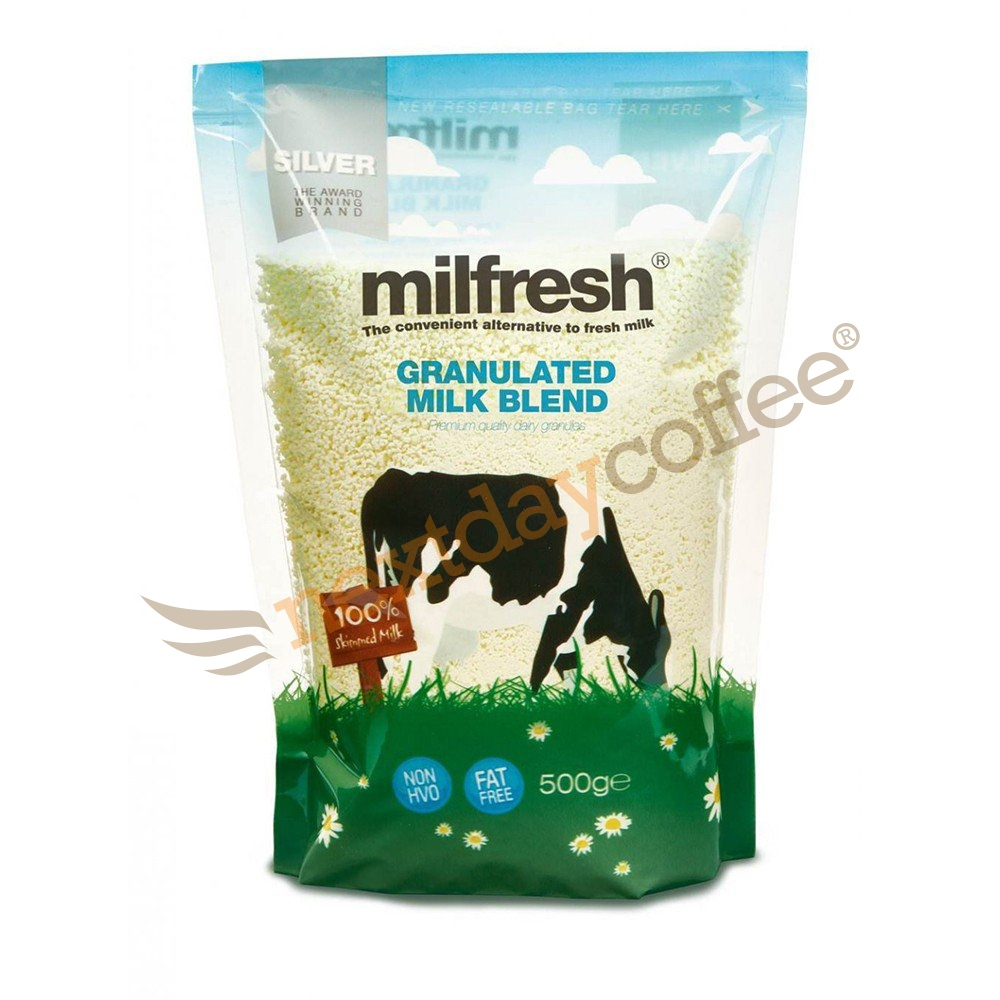 Milfresh Silver Granulated Skimmed Milk Powder (10 x 500g)