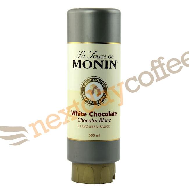 Monin Sauce - White Chocolate (500ml)