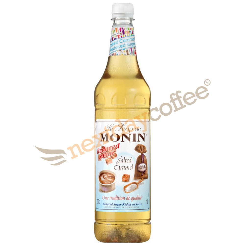 Monin Salted Caramel Reduced Sugar Syrup 1 Litre Monin Syrups