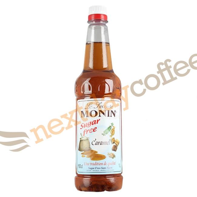 Monin Caramel Sugar Free Syrup (1 Litre)