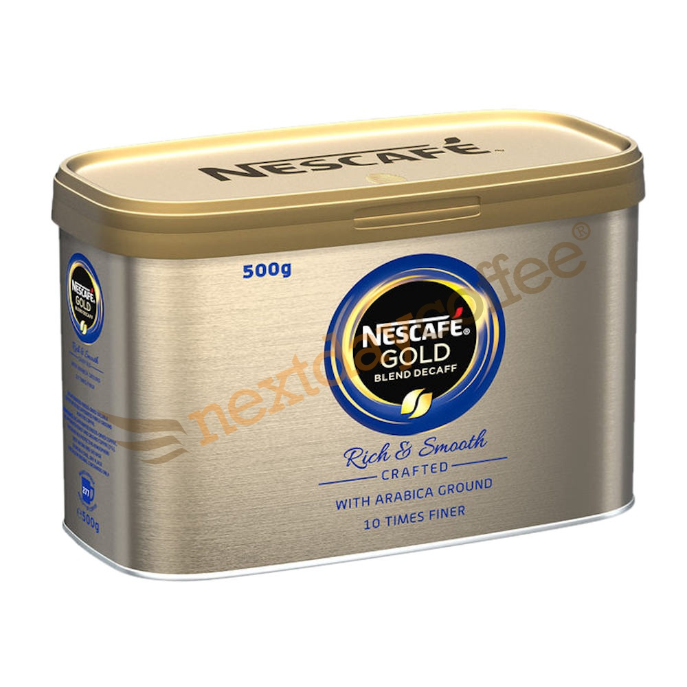 Nescafe Gold Blend Decaffeinated Instant Coffee (500g)