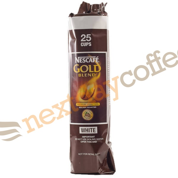Nescafe Gold Blend 73mm Vending Incup White Coffee (25)