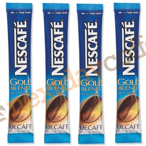 Nescafe Gold Blend Decaffeinated Stick Sachets (200)
