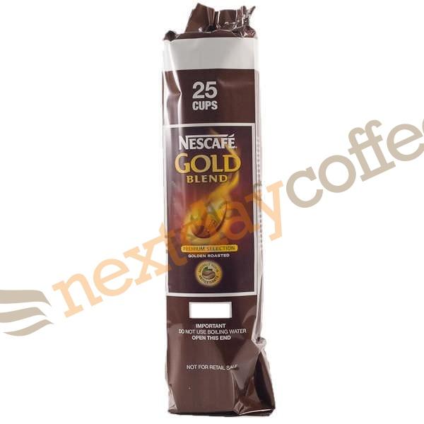 Nescafe Gold Blend 73mm Vending Incup Black Coffee (12 x 25)