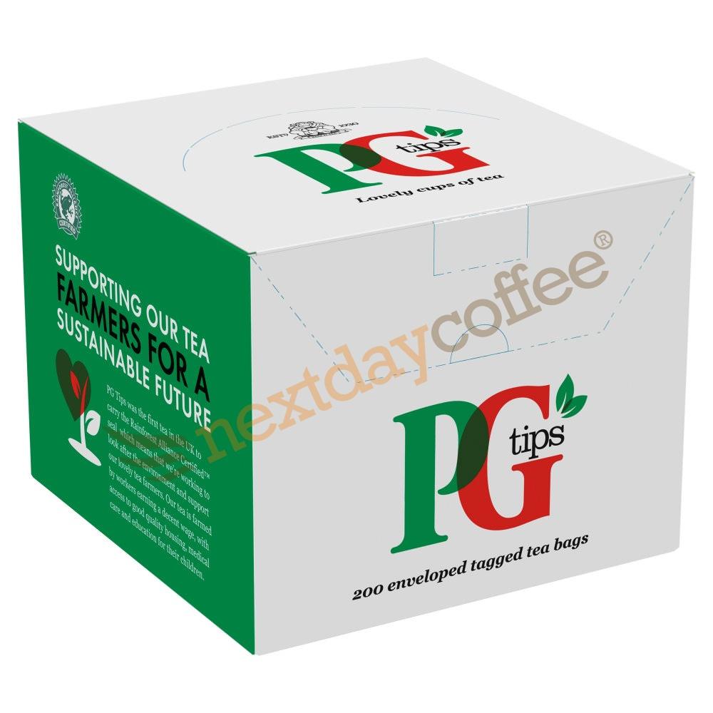 PG Tips Envelope Tea Bags (200 Pack)