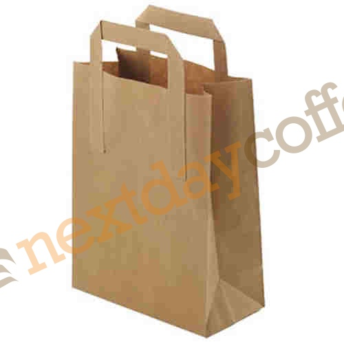 Paper Takeaway Carry Bags (125 bags)