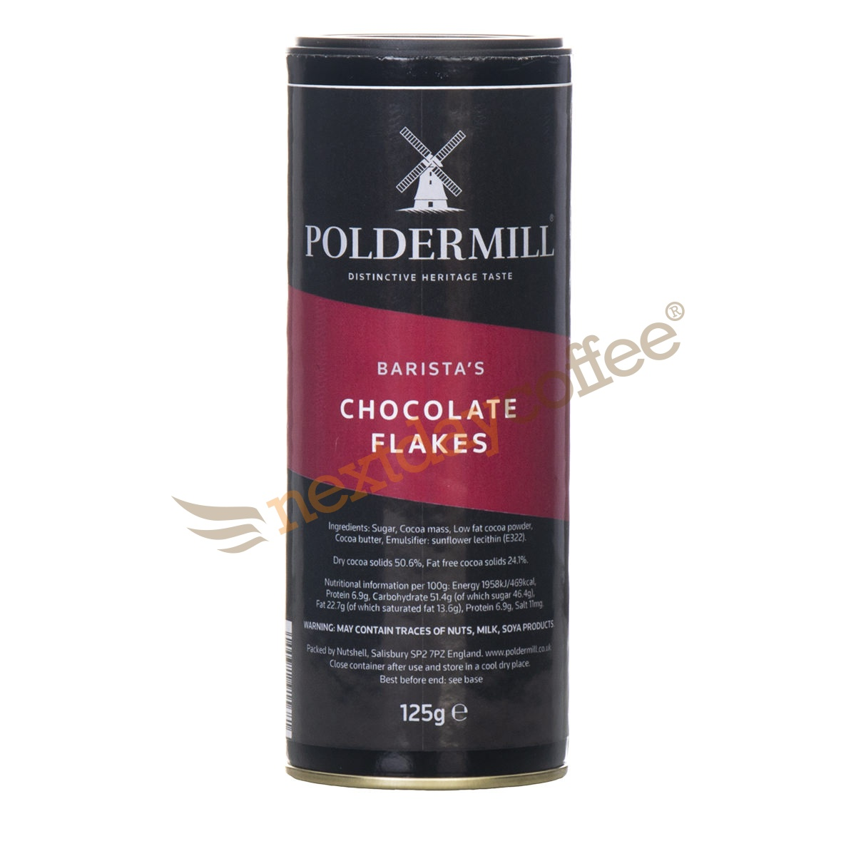 Poldermill Barista Chocolate Flakes (125g)