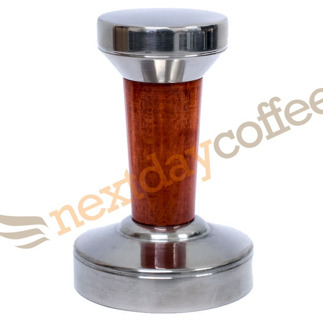 Premium Wooden Coffee Tamper (57mm)