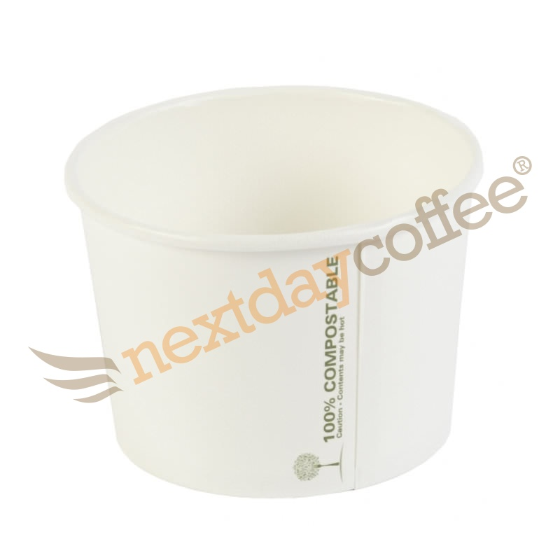 16oz Compostable Soup Bowls (100)