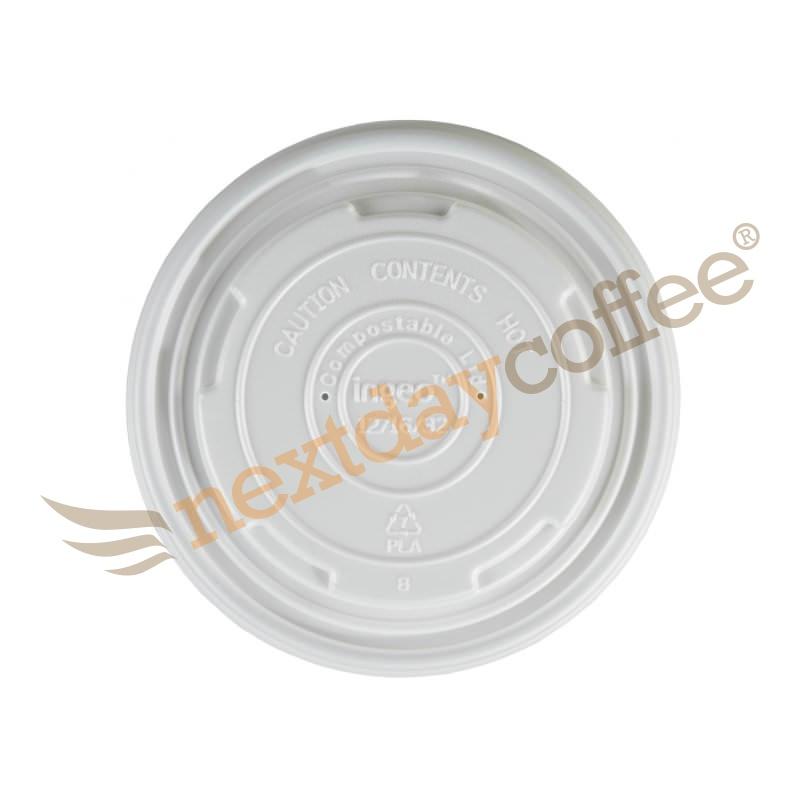 12-16oz Compostable Lids for Soup Bowls (100)