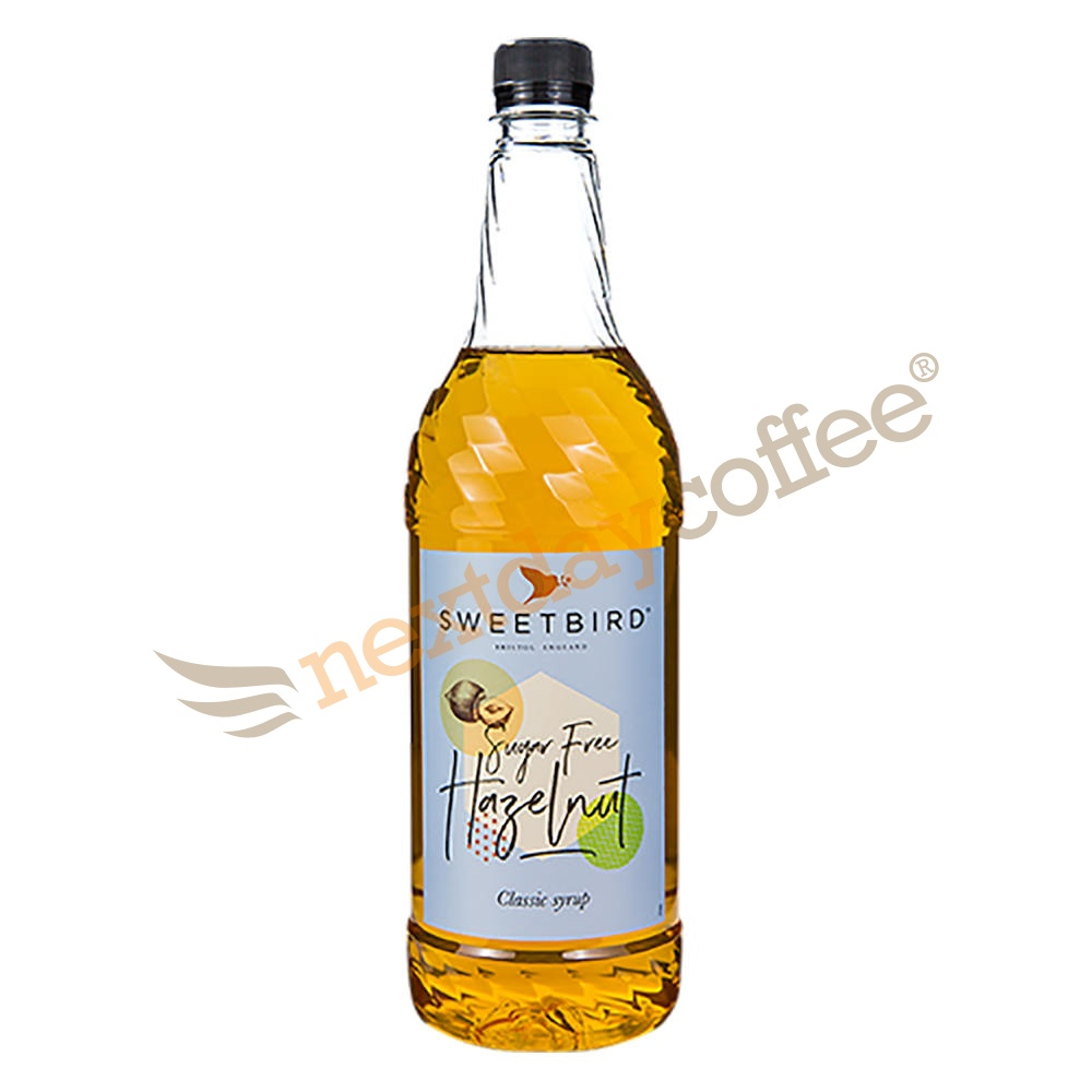 Sweetbird Hazelnut Sugar Free Syrup (1 Litre)