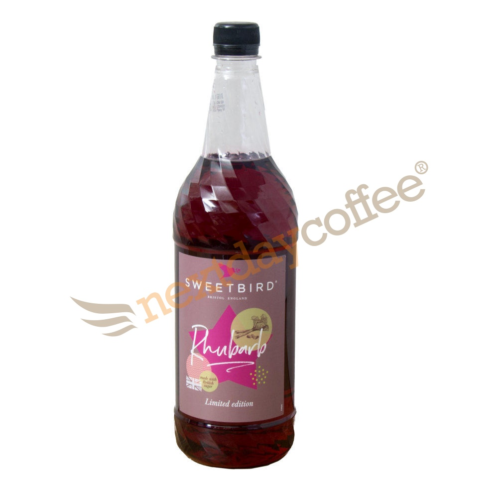 Sweetbird Rhubarb Syrup (1 Litre)