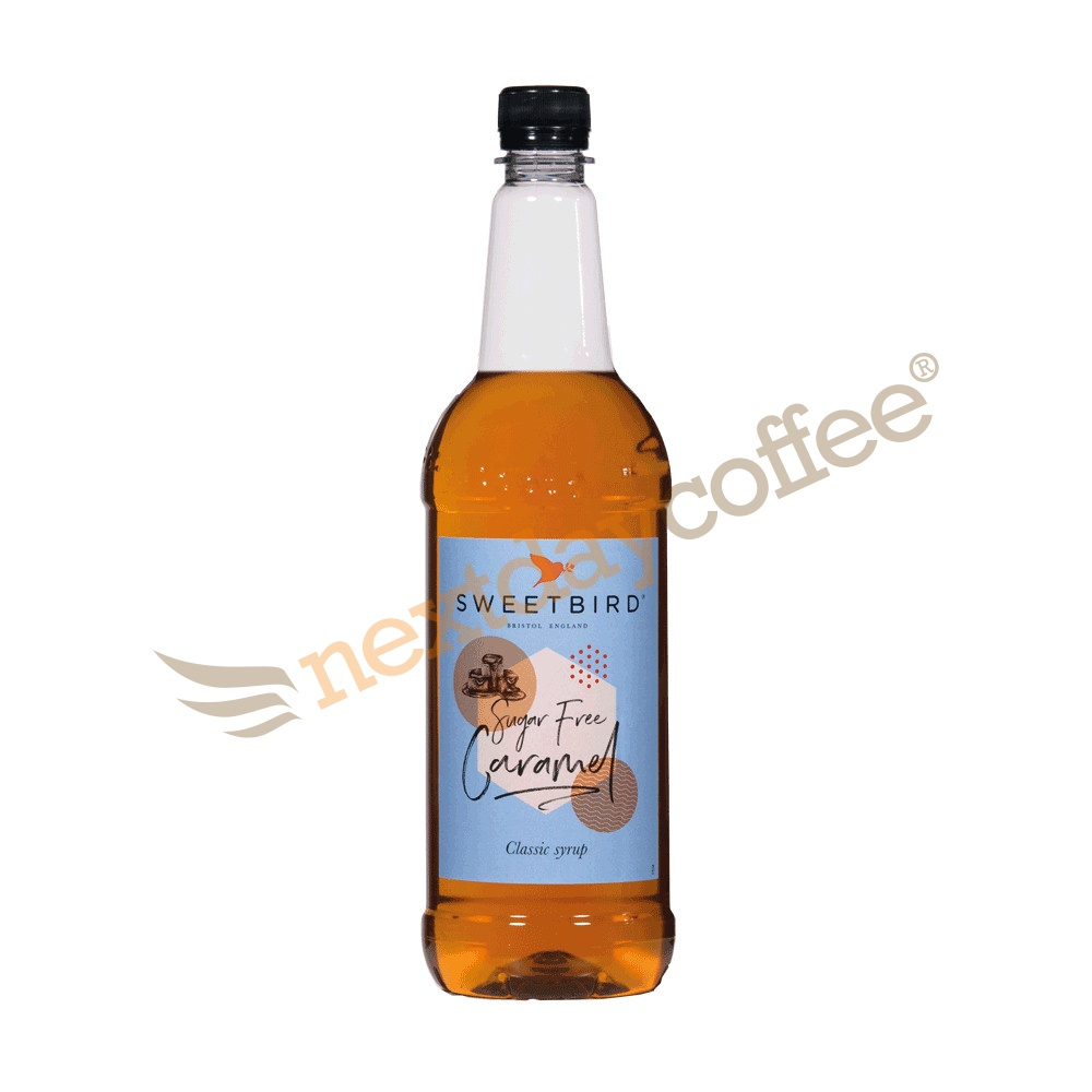 Sweetbird Caramel Sugar Free Syrup (1 Litre)