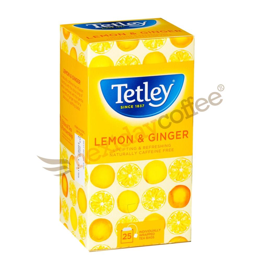Tetley Lemon & Ginger Tea (25)