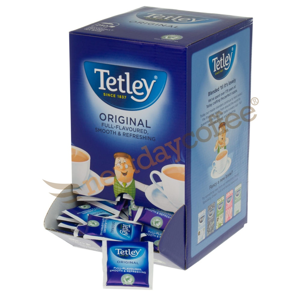 Tetley Tag and Envelope Tea Bags (250)