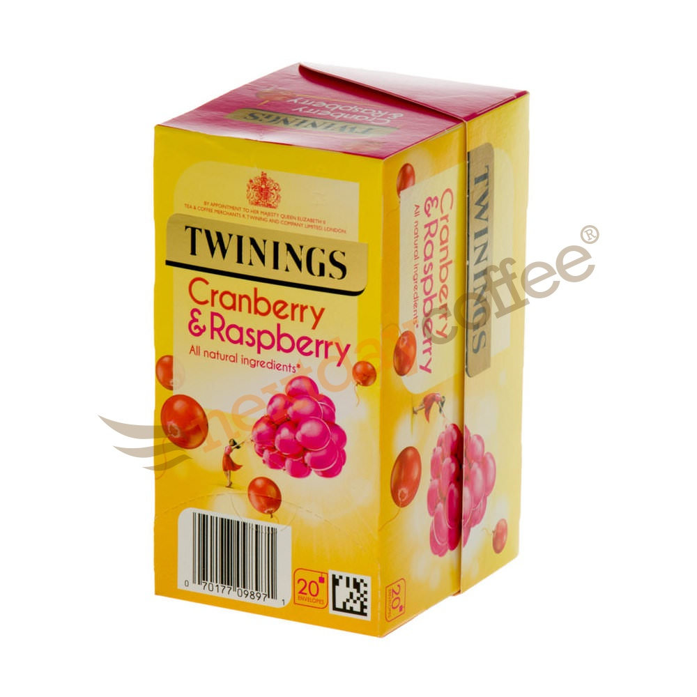 Twinings Cranberry and Raspberry Infusion (20 bags)
